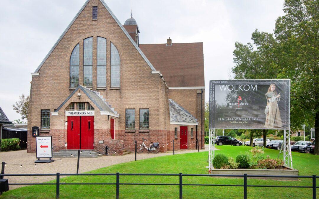 Theaterkerk Nes twee weken dicht